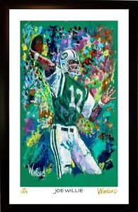SALE-JOE-NAMATH-L-E-113-199-PREMIUM-ART-PRINT-ARTWORK-SIGNED-BY-ARTIST-WINFORD