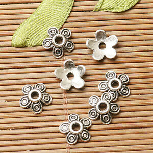 310pcs dark silver color flower design bead cap for jewerly making  EF2817