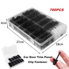 700pcs Assortments Car Body Push Retainer Pin Rivet Parts Clip Moulding Tool Kit Fits 1999 Jeep Wrangler