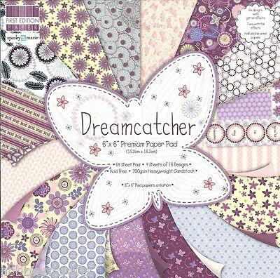 DOVECRAFT DREAMCATCHER  6 X 6 SAMPLE PACK - 16 SHEETS - PLEASE READ DESCRIPTION