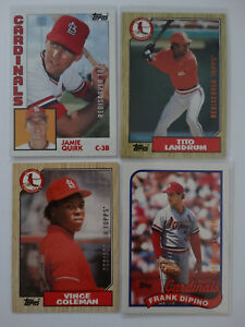 2017-Topps-St-Louis-Cardinals-Rediscover-Topps-Lot-Of-4-Baseball-Cards