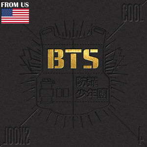BTS-KPOP-BANGTAN-BOYS-1st-Single-Album-2-Cool-4-Skool-CD-Photobook