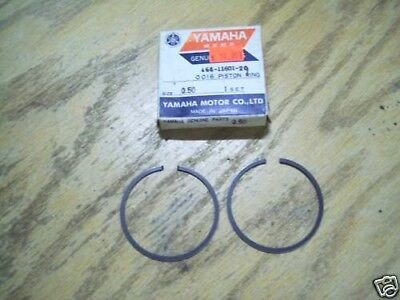 NOS Yamaha 1967 1968 YL2 YL2C YL2CM Piston Rings .25 166-11601-10