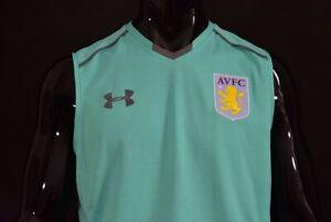 2016-2017 Under Armour Aston Villa AFC Training Football vest Shirt SIZE L adult