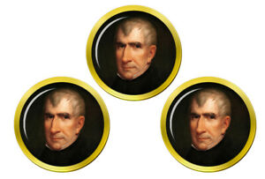 President-William-Henry-Harrison-Marqueurs-de-Balles-de-Golf