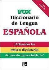 VOX Dictionary: Vox Diccionario de Lengua Española by Vox Staff (2008, Paperback)