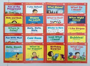 Lot-20-Level-A-Childrens-Books-Learn-to-Read-Leveled-Readers-Lot-20-Bonus-Guide