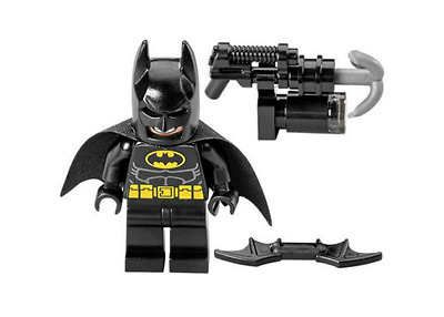 Lego Super Heroes DC - Batman Minifigure from The Lego Movie - 70817 - NEW