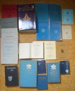 Joblot of 20 assorted Freemason/Masonic books and booklets