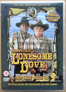 Return-to-Lonesome-Dove-DVD-1994-Western-Classic-TV-Mini-Series-2-Discs