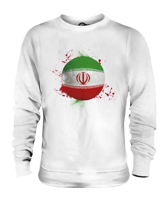 IRAN FUßBALL UNISEX SWEATER PULLOVER PULLI SWEATSHIRT HERREN DAMEN