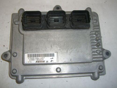 2005 05 HONDA ODYSSEY 37820-RGL-A57 ECU ECM COMPUTER BRAIN ENGINE CONTROL MODULE