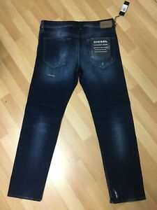 NWD-da-Uomo-DIESEL-BUSTER-Stretch-Denim-084GF-DARK-BLUE-SLIM-W34-L30-H7-RRP-180