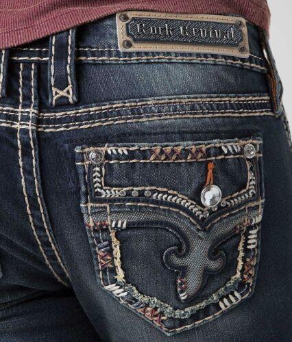 28x34 Boot Betty Nwt Revival Rock Jeans Kvinder Ny Long Bootcut Denim zFTwqZS