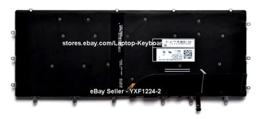 US English Backlit Keyboard for Dell XPS 15 9560 9570 15-9560 15-9570