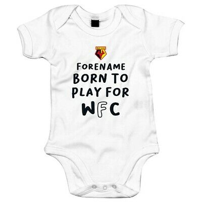 Temperato Watford F.c - Personalizzato Body (born To Play)-
