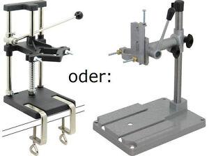 Tischklemmen für Kleinbohrmaschinen Bohrständer inkl