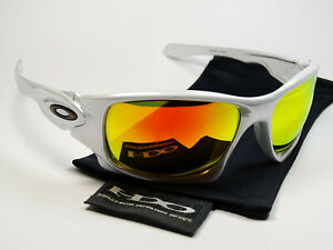 Oakley-Ten-White-Chrome-Fire-Sonnenbrille-Scalpel-Splice-Pit-Boss-Valve-Bull-JPM