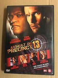 Assault on Precinct 13 DVD PAL NL Laurence Fishburne Ethan Hawke