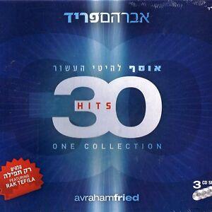 30-Hits-One-Collection-Avraham-Fried-CD-tripple-album-Jewish-Worship-Music