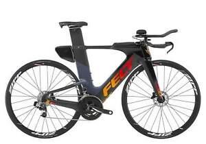 2019-Felt-IA2-Disc-Carbon-Triathlon-Bike-TT-Time-Trial-Sram-Red-eTap-54cm