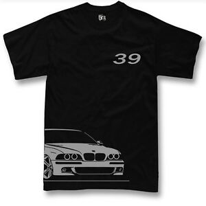 T-SHIRT-FOR-BMW-e39-fan-520i-525i-530i-m5-manica-lunga-SWEATER