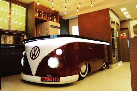 Remarkable Vw Kombi Replica Indoor Bar Showroom Ice Cream Parlour Download Free Architecture Designs Scobabritishbridgeorg