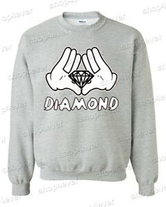 Diamond-Cartoon-Hands-Crewneck-Illuminati-Cool-Graphic-Novelty-Fun-Sweatshirts