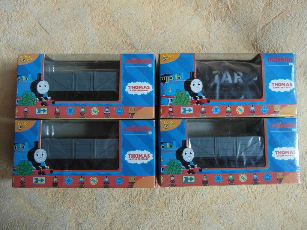 4 Marklin vagoni Thomas Thomas Thomas e i suoi amici 44133 + 44130 NUOVO k25 83a1ac