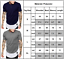Mens-Plain-Short-Sleeve-T-Shirt-Slim-Fit-Longline-Loose-Crew-Neck-Casual-Top-Tee thumbnail 5