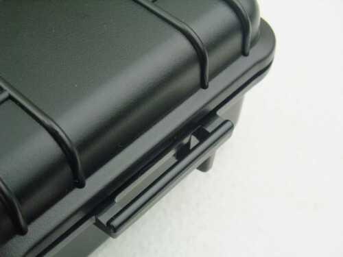 Strahlwasserdichtes Outdoor Kunststoff Koffercase 24x14x7cm Gr 6 Fotokoffer Box