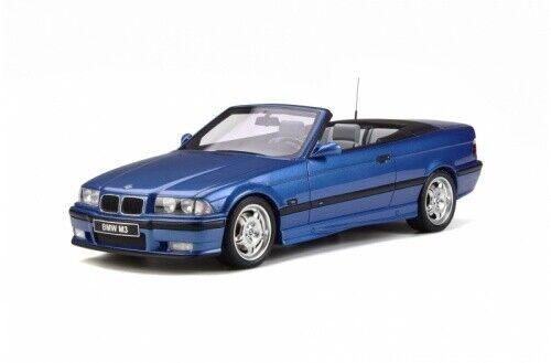 BMW M3 E36 Cabriolet estoril blau OT279 1 18 Otto Models