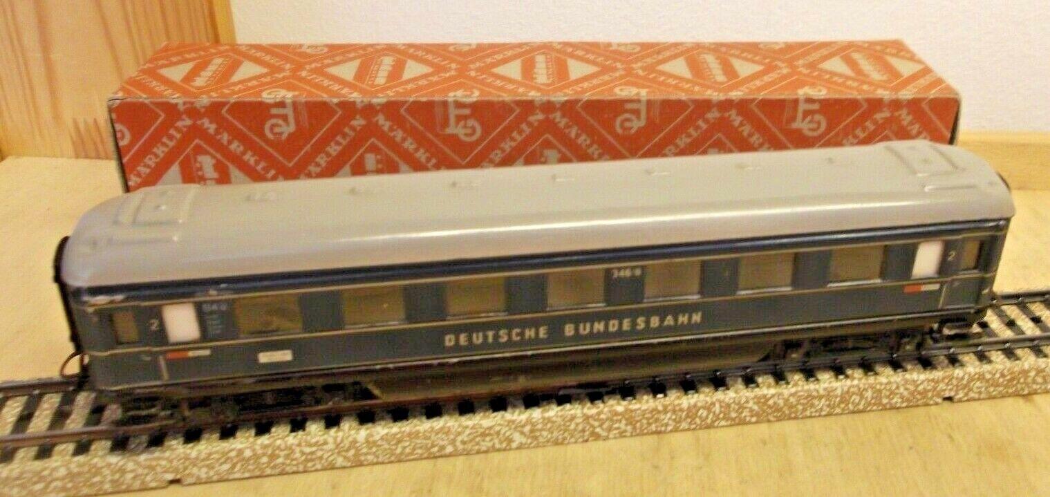 marklin H0 4014 Schürzenwagen 3466  Tedesco Ferrovie Federali  Gut Im