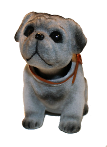 Pug Dog Bobble Head Doll Dog Dashboard Bobbing Head