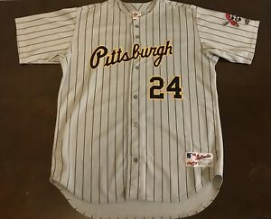 separation shoes 59b99 c400c Details about Rare Vintage Rawlings MLB Pittsburgh Pirates Barry Bonds  Baseball Jersey