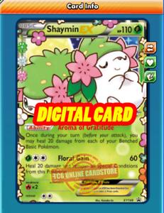 Shaymin Ex Promo Xy148 For Pokemon Tcg Online Ptcgo Digital Card