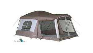 Family Tent Cabin 8 Person Camping Travel 2 Room With