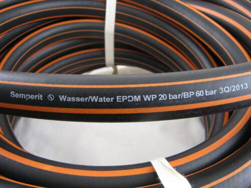 """Semperit IWH Gartenschlauch EPDM Wasserschlauch 13 x 3 mm 1//2/"""" 1,80€//m"""
