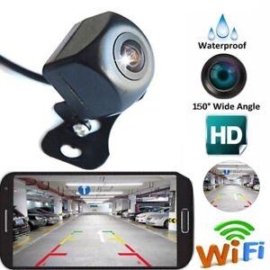 150-Auto-KFZ-WiFi-Funk-Rueckfahrkamera-Nachtsicht-Fuer-Android-amp-IPhone-iOS