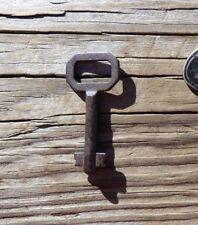 B70  Roll Top Desk Key Antique Corbin Double Bit Solid Shaft Key Marked