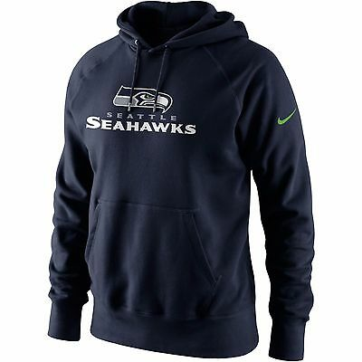 NWT MEN'S NIKE SEATTLE SEAHAWKS PULLOVER HOODIE NFL SIZE MEDIUM FAST SHIPPING | eBay