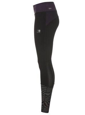 Karrimor X Tight LD00 Black Purple Reflect Ladies Running Tights