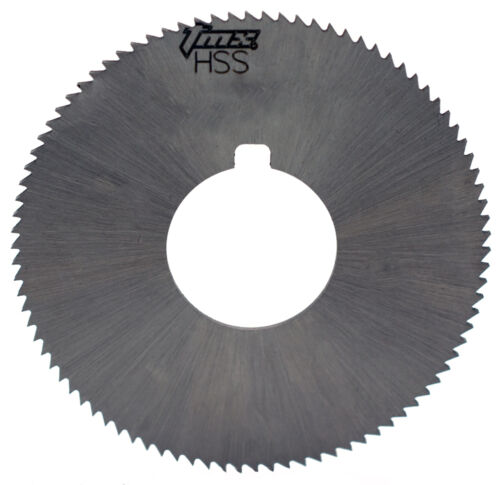 ".020/"" Thick x 1-3//4/"" Diameter x 5//8/"" Arbor Hole 90 Teeth HSS Screw Slotting Saw"