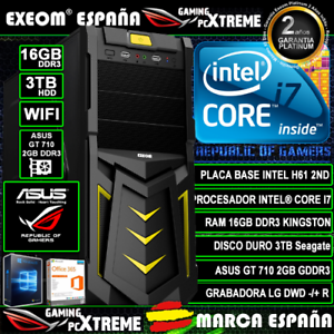 Ordenador-Gaming-Pc-Intel-i7-16GB-DDR3-3TB-GT710-2GB-WIFI-Windows-10-Sobremesa