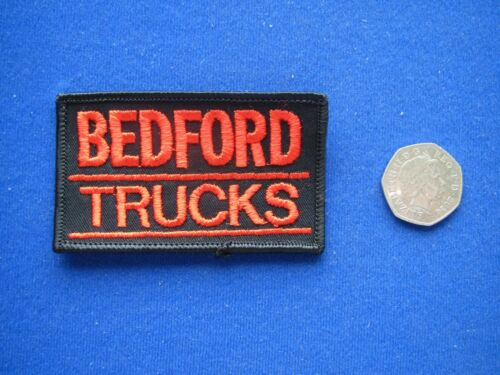 BEDFORD Trucks Sew//Stick on  Embroidered Cloth Badge//Patch    1980/'s