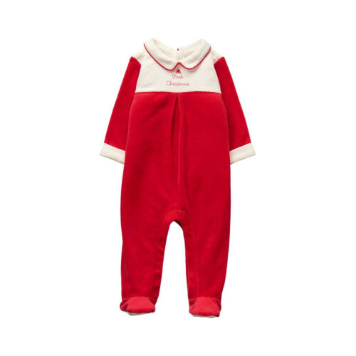 Janie and Jack First Christmas Velvet One Piece Outfit 0 3 6 9 Months NWT $44.00