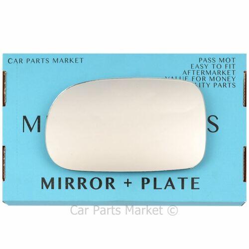 Left Passenger side Wing door mirror glass for Suzuki Swift 96-04 plate