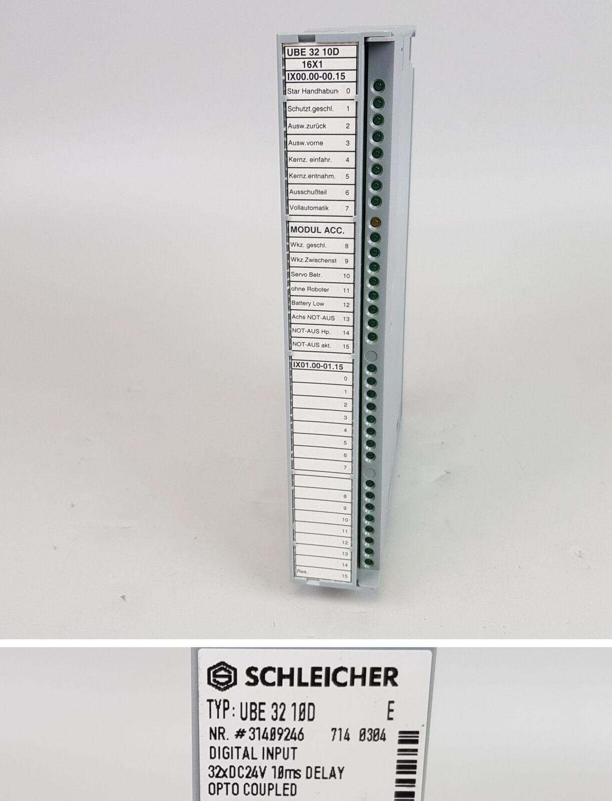 PP6521 Schleicher UBE 32 10D Version E 31409246