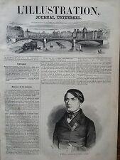 L'ILLUSTRATION 1848 N 288 QUENTIN BAUCHART RAPPORTEUR DE LA COMMISSION D'ENQUÊTE