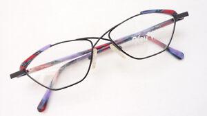 Brille Fassung Damen Klein Oval Ausgefallenes Design Metall Gestell Grösse M Beauty & Gesundheit Sonnenbrillen & Zubehör
